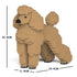 JEKCA Animal Building Blocks Kit for Kidults Standard Poodle 01S-M02