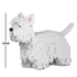 JEKCA Animal Building Blocks Kit for Kidults West Highland White Terrier 01S