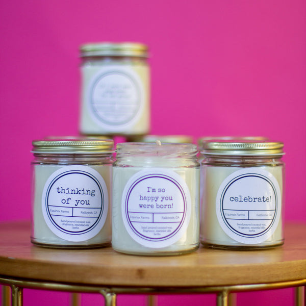 Equinox Farm Candles