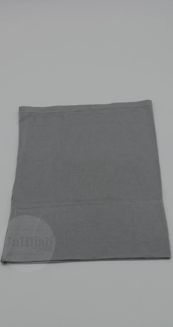 Sous Hijab Collection Premium Jersey Tube Gris
