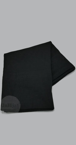 Sous Hijab Collection Premium Jersey Tube Noir