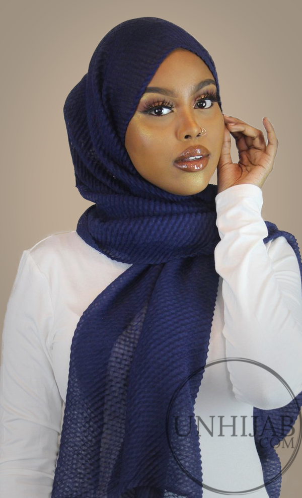 Hijab Careena Bleu Marine