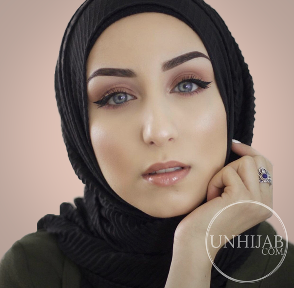 Hijab Careena Noir