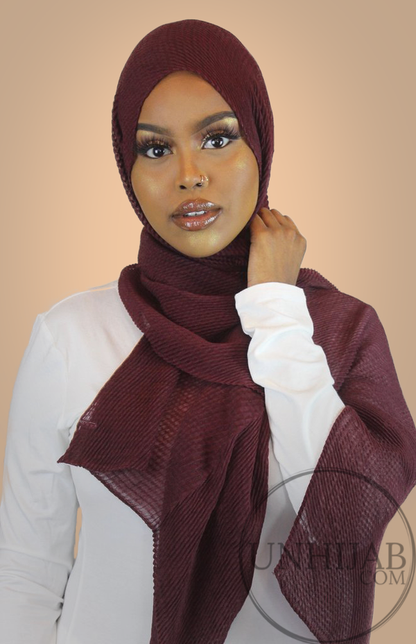 Hijab Careena FireBrick