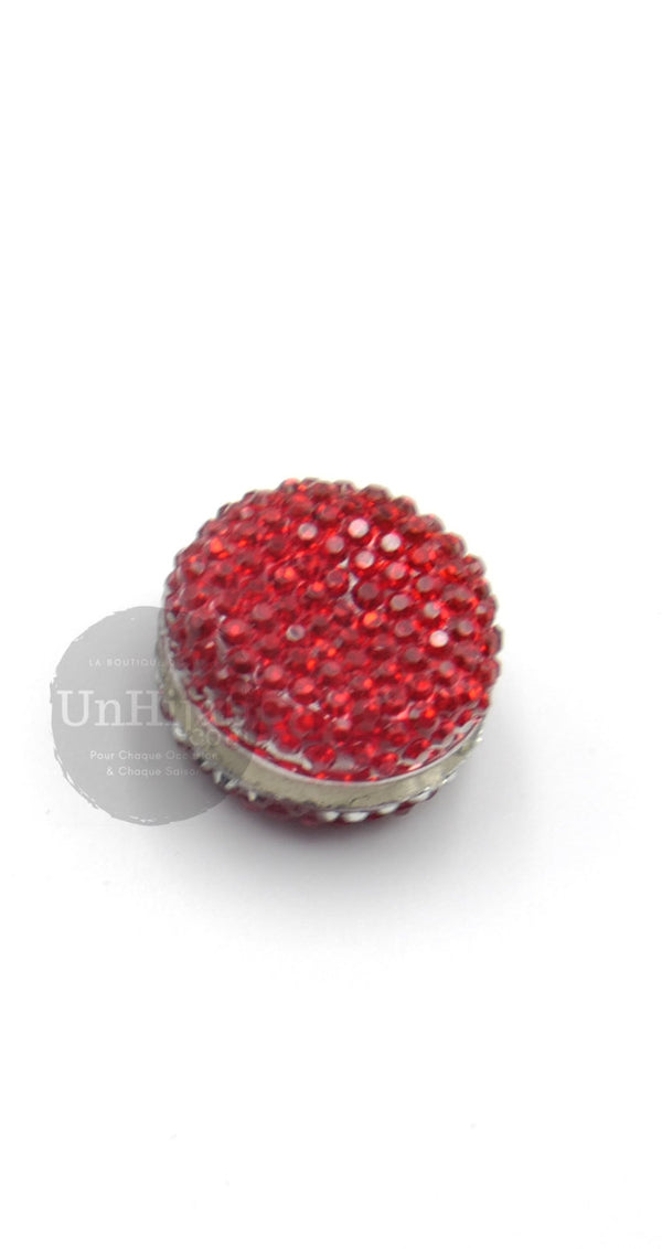 Broche Aimantée Basic Rouge