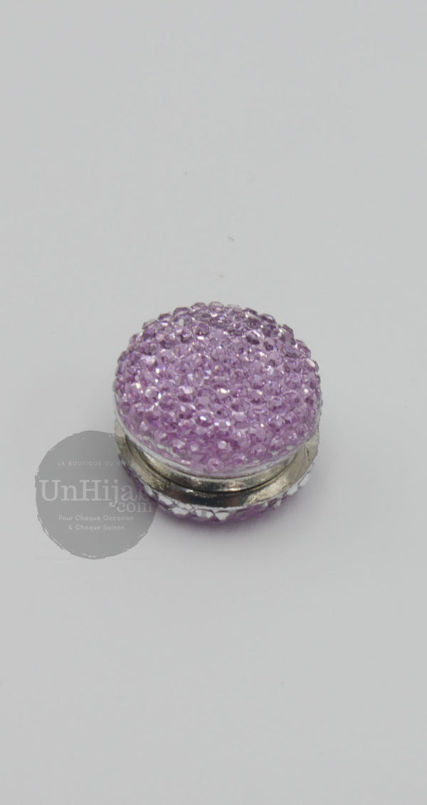 Broche Aimantée Basic Violet