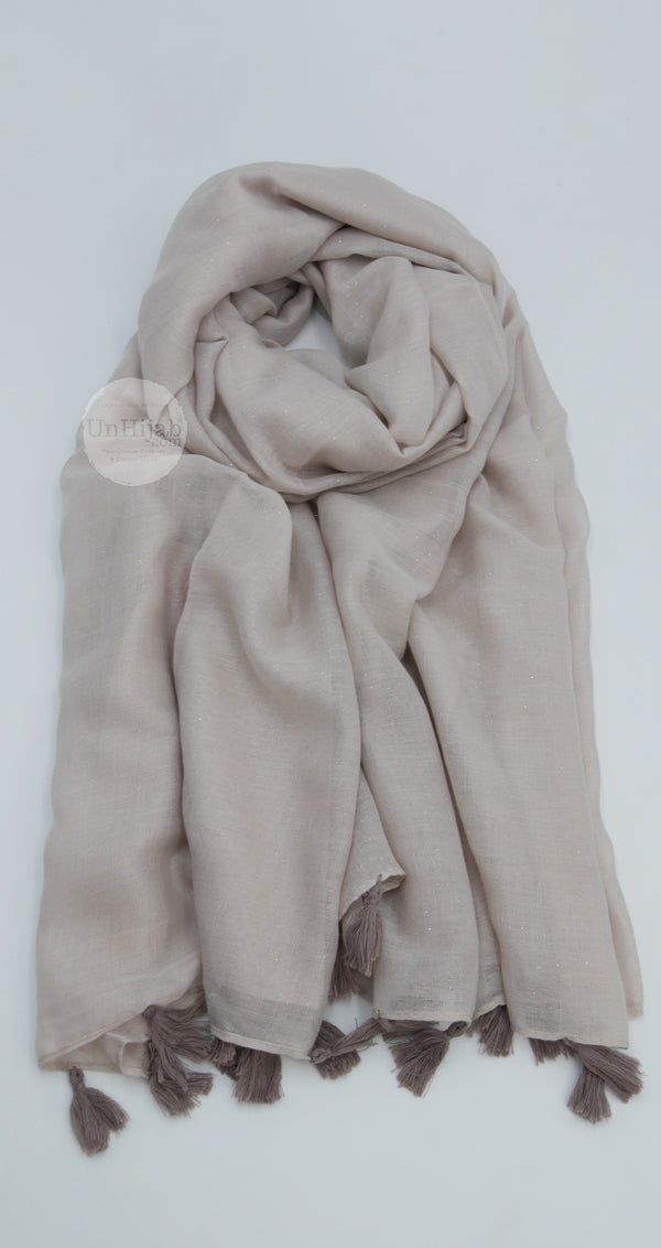 Châle Collection Premium Taupe