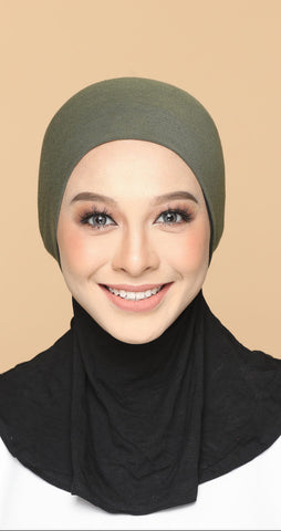 Sous Hijab Collection Basic Bonnet SlateGrey