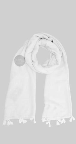 Châle Collection Basic Blanc