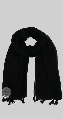 Châle Collection Basic Noir