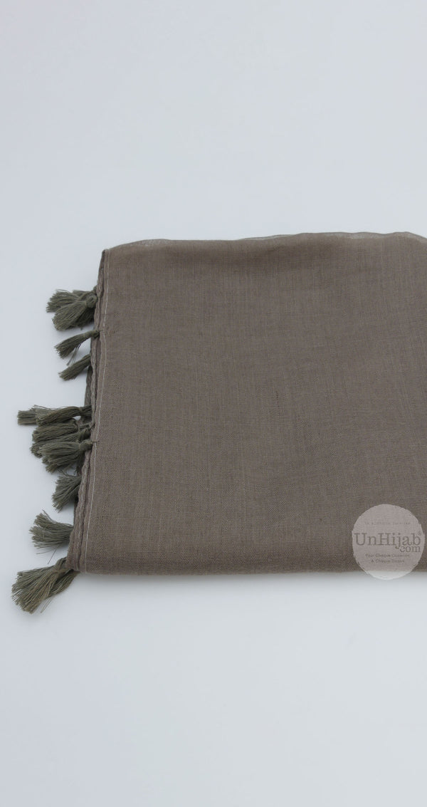 Châle Collection Basic DeepTaupe