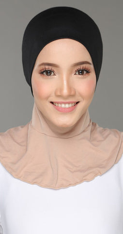 Sous Hijab Collection Basic Bonnet Noir