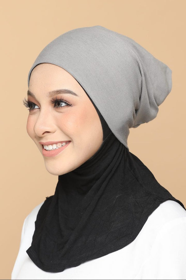 Sous Hijab Collection Basic Bonnet Gris