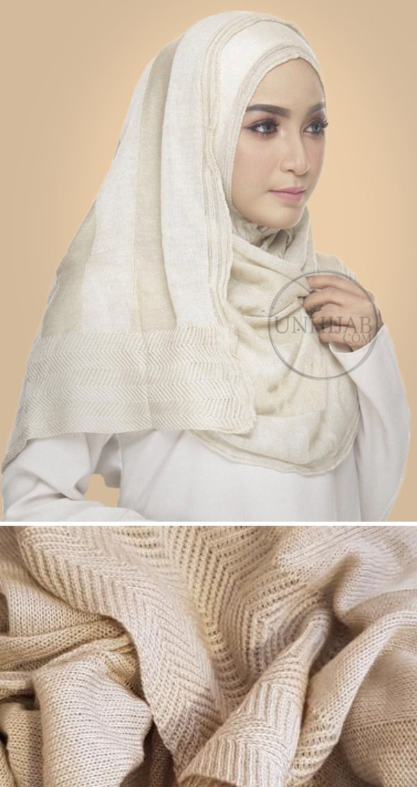 Hijab Collection Dahlia Cream