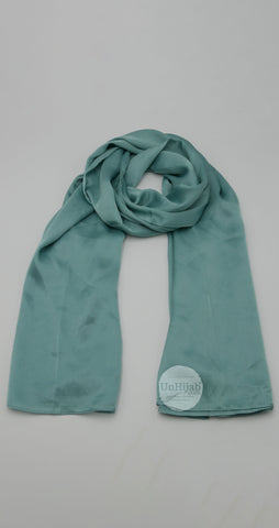 Hijab Louna XXL en Viscose PaleGreen
