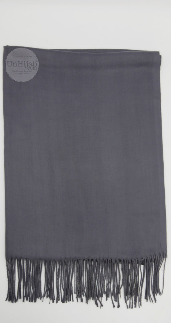 Pashmina Collection Basic DarkGrey