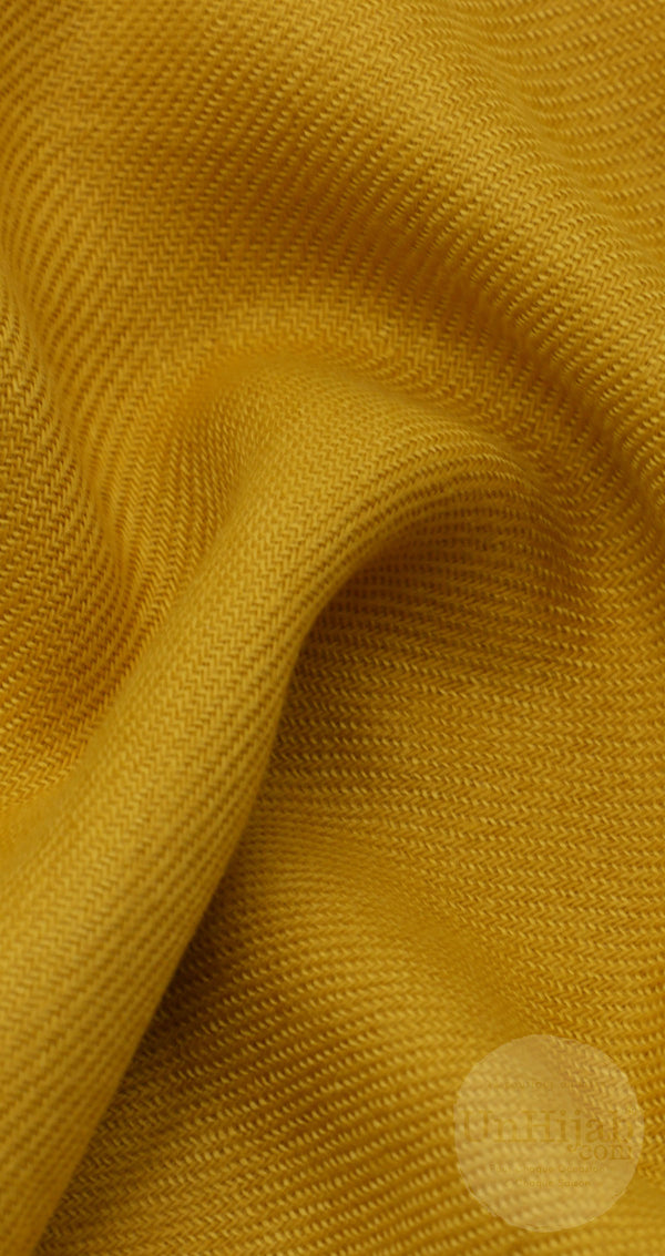Pashmina Collection Basic Jaune Moutarde