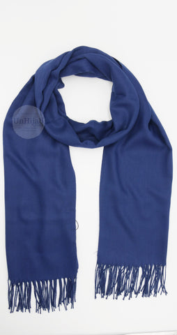 Pashmina Collection Basic Bleu Marine