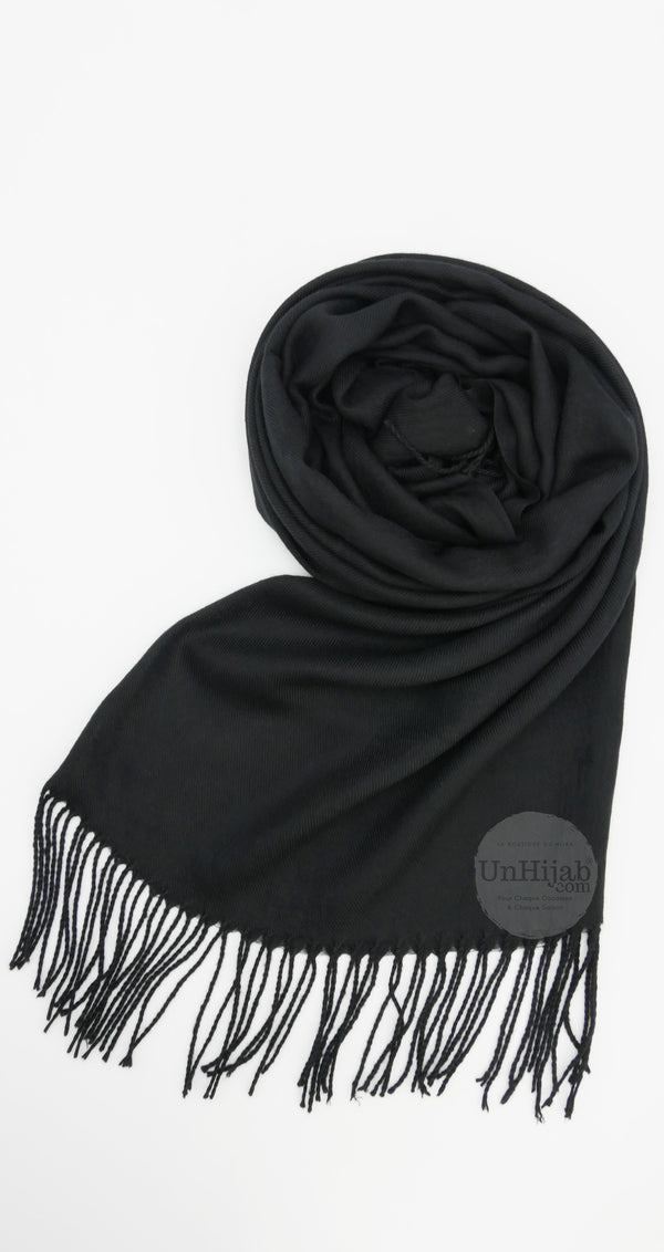Écharpe Pashmina Collection Light Noir