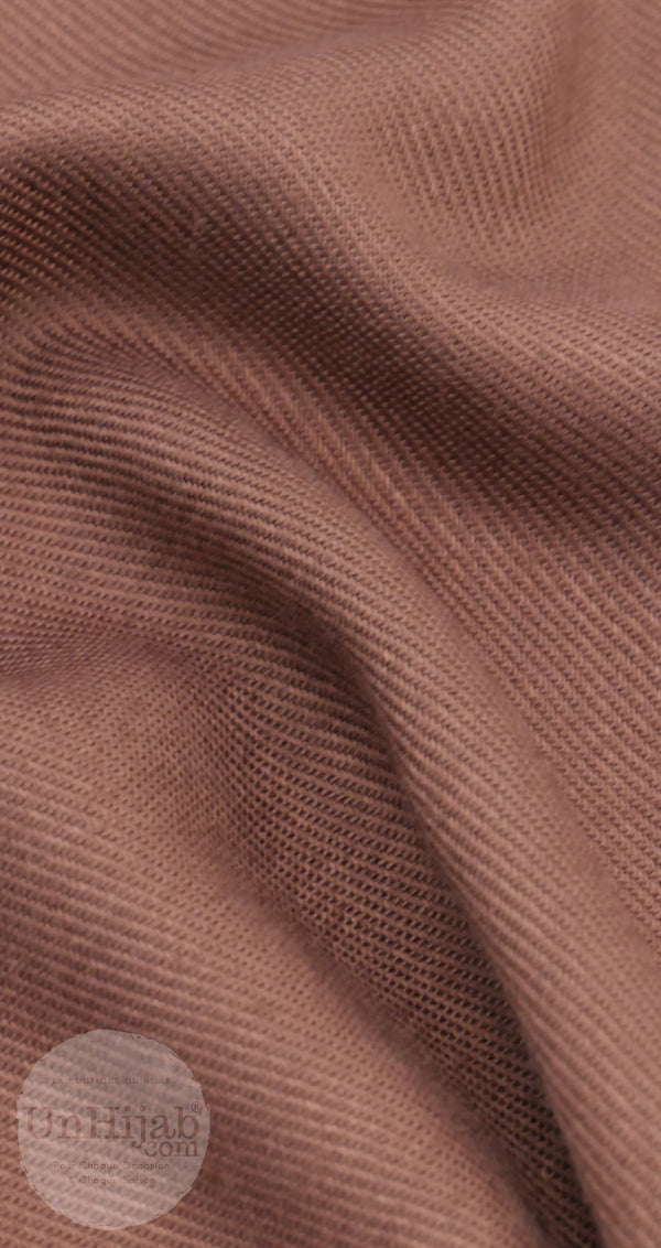 Pashmina Collection Basic SaddleBrown