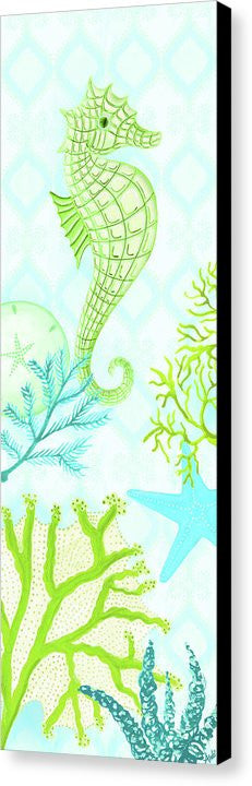 Seahorse Reef Panel I Canvas Print by Andi Metz