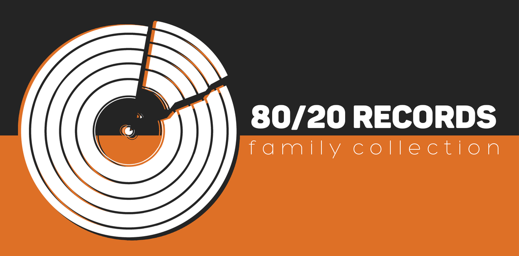 80/20 Records Collection Band Merchandise T-Shirts