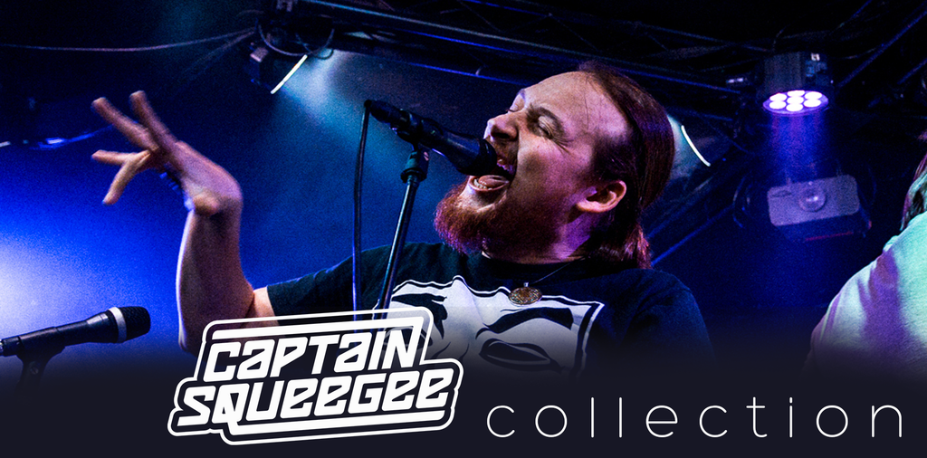 Captain Squeegee Collection Band Merchandise T-Shirts