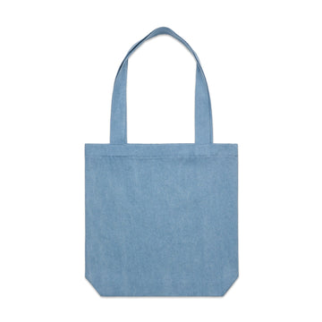 Denim Carrie Tote | Custom Blanks - Band Merch and On-Demand Designer Shirts