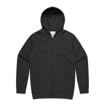 Men's Fleck Zipper Hoodie | Custom Blanks - Band Merch and On-Demand Designer Shirts