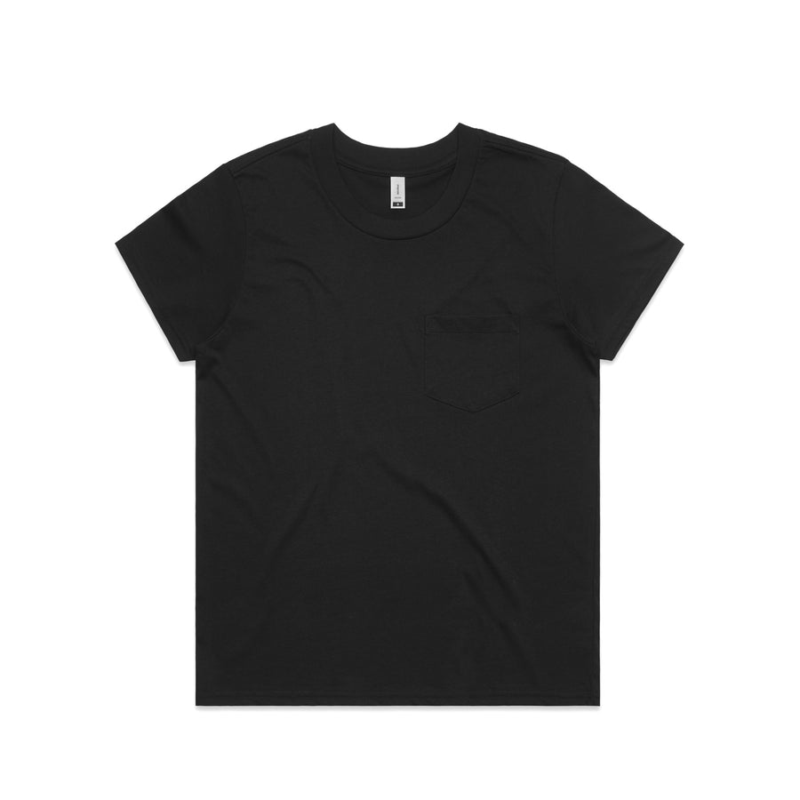 Arena- Blank Woman's Square Pocket Tee