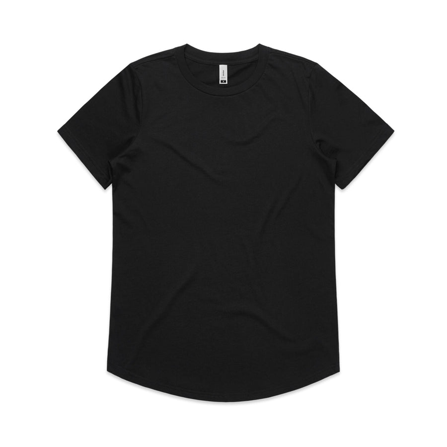 Women's Drop Tee Shirt | Custom Blanks - Band Merch and On-Demand Designer Shirts