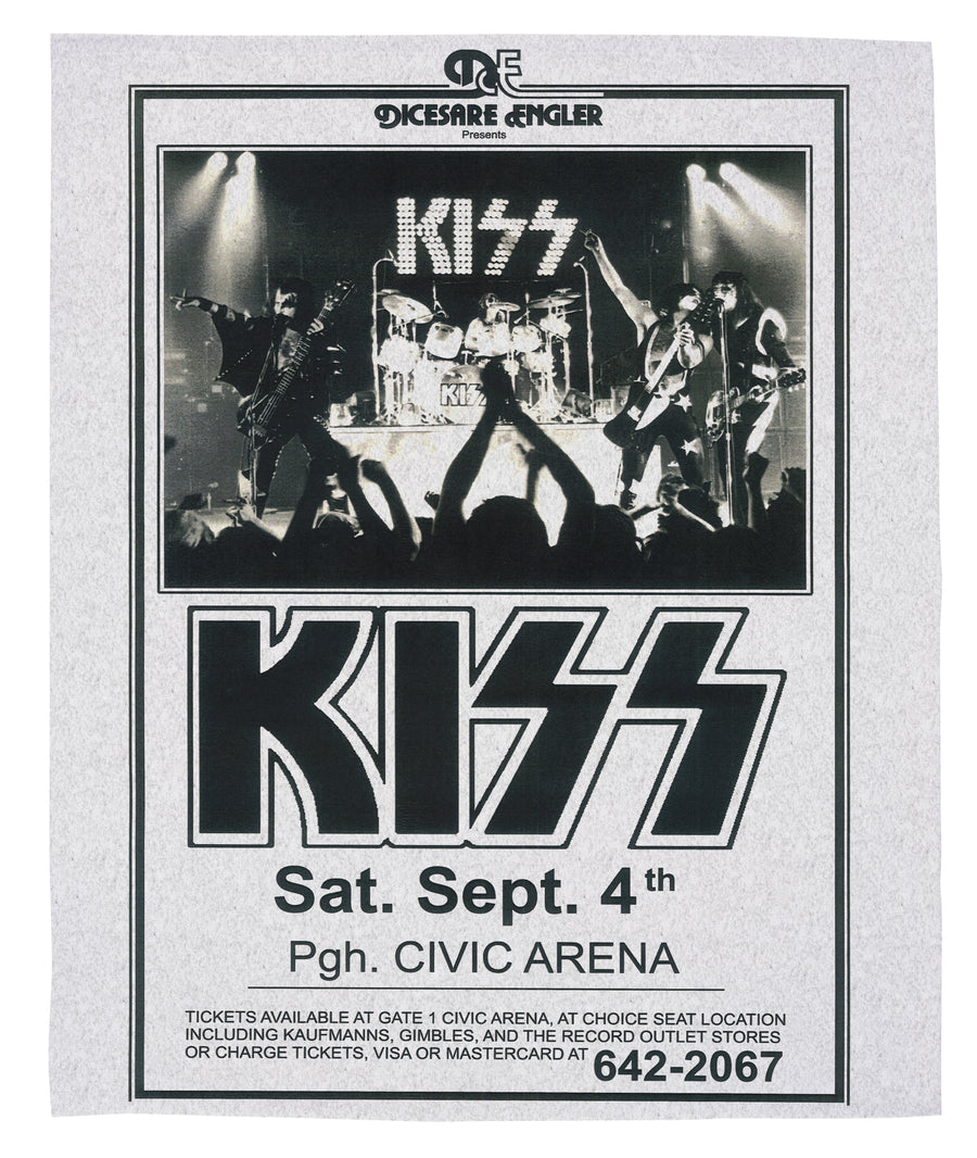 KISS Tour Poster Band Blanket | Arena