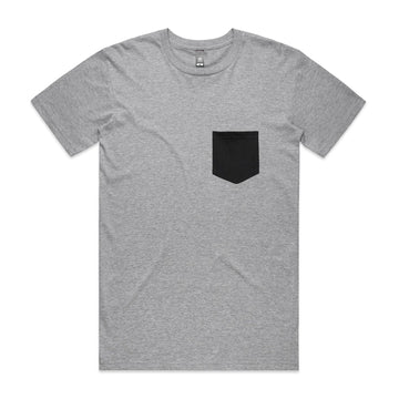 Men's Staple Pocket Tee Shirt | Custom Blanks - Band Merch and On-Demand Designer Shirts