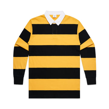 Men's Rugby Stripe Jersey | Custom Blanks - Band Merch and On-Demand Designer Shirts