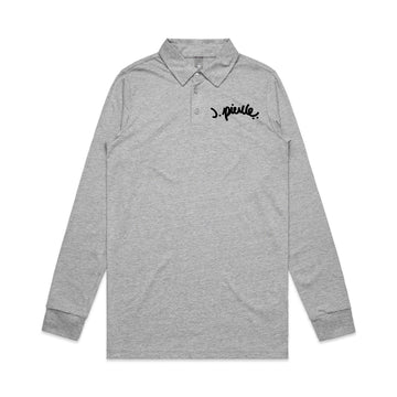 J. Pierce - Signature: Men's Chad L/S Polo | Arena