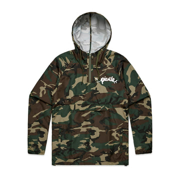 J. Pierce - Signature: Unisex Camo Windbreaker | Arena