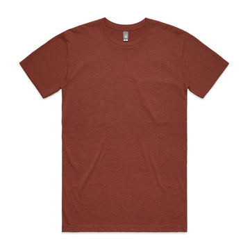 Men's Staple Heather Tee Shirt | Custom Blanks - Band Merch and On-Demand Designer Shirts