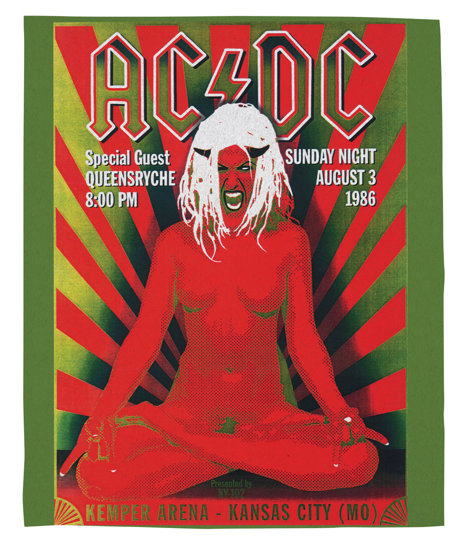 ACDC Tour Poster Band Blanket | Arena