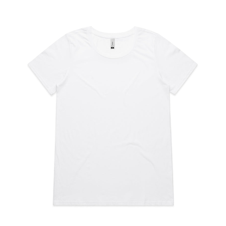 Arena- Blank Woman's Shallow Scoop Tee
