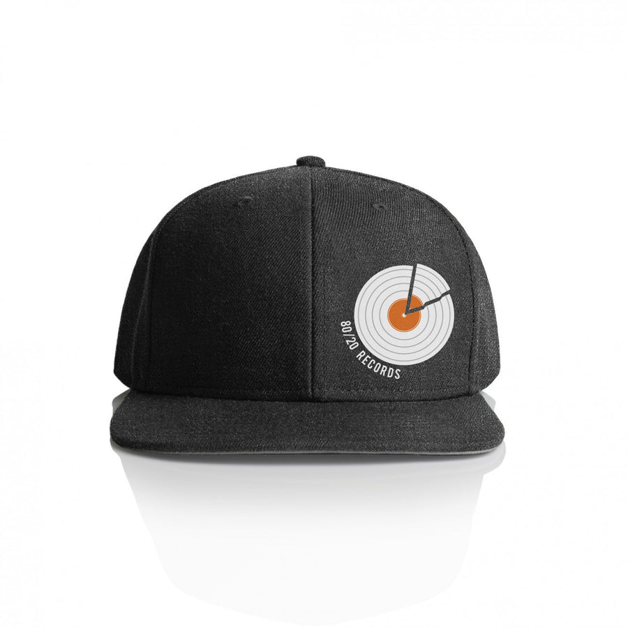 80/20 Records Hat Dark Grey