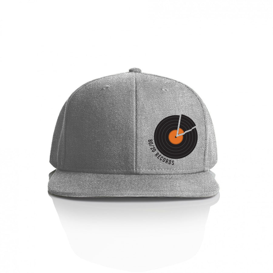 80/20 Records Hat Heather Grey