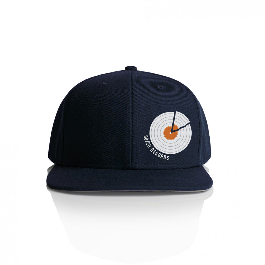 80/20 Records Hat Navy