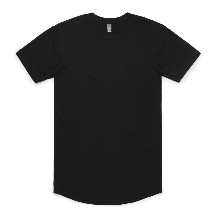 Arena- Blank Men's Curved Hem Tee