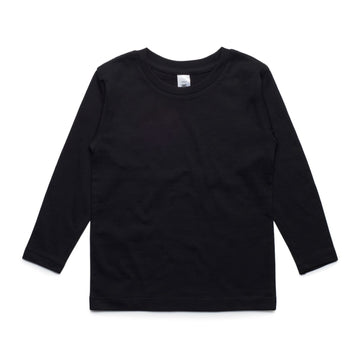 Arena- Blank Youth Long Sleeve Tee