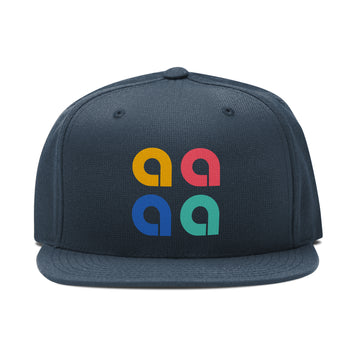 A Squared - Classic Snapback Hat - Band Merch and On-Demand Designer Shirts