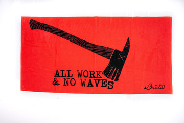 Banta - All Work No Waves Towel | Arena