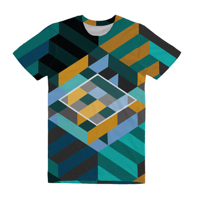 House of Stairs - Unisex All Over Tee Shirt