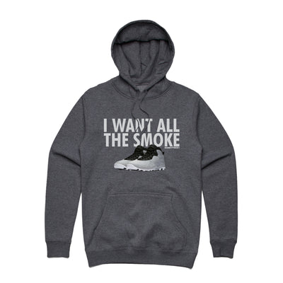 All the Smoke Asphalt Hoodie