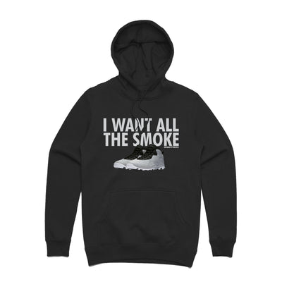 All the Smoke Black Hoodie
