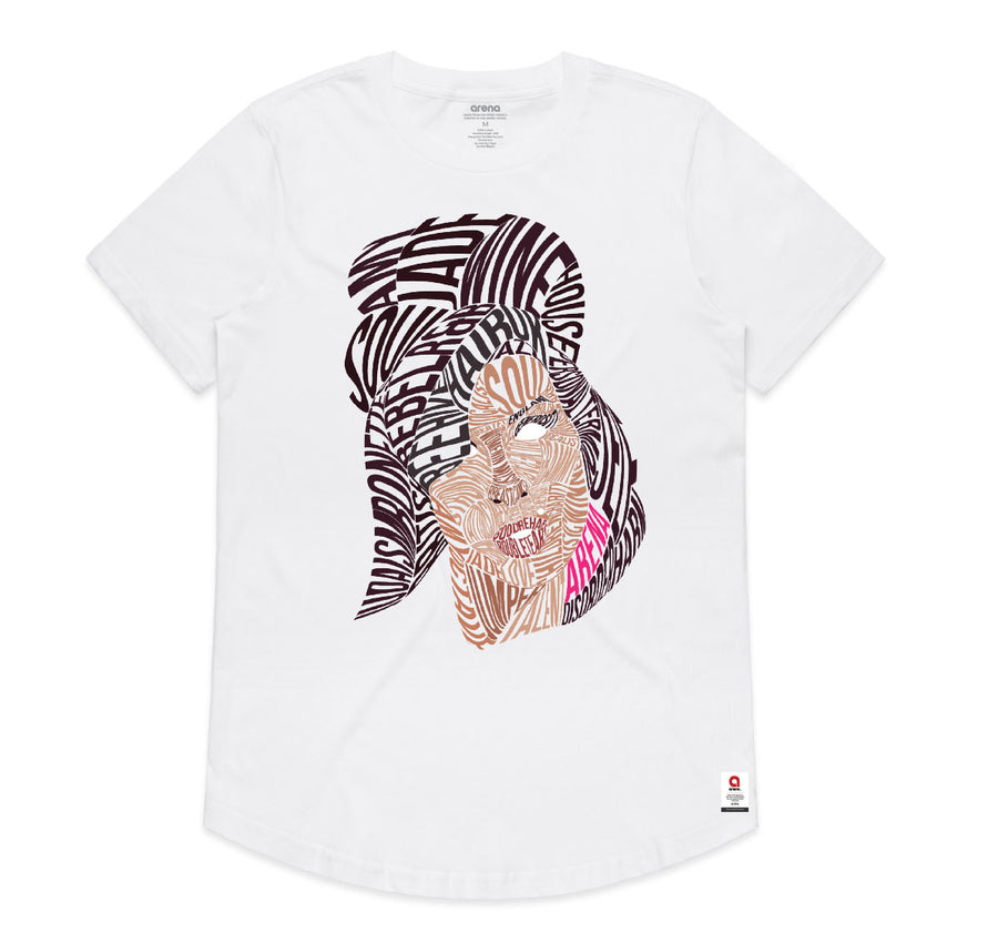Amy Winehouse - Women's Drop Tee Shirt